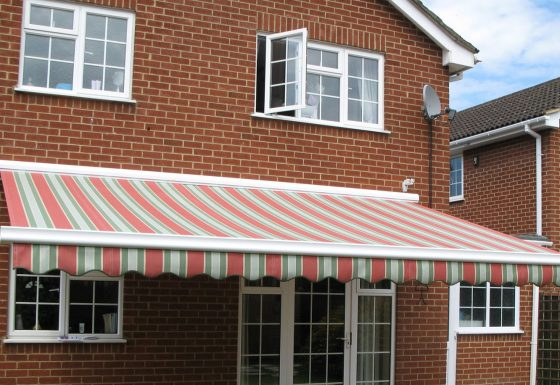 Straight Awnings