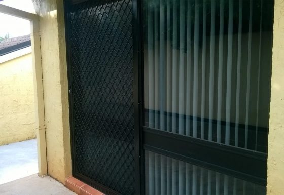 Security Screen Doors